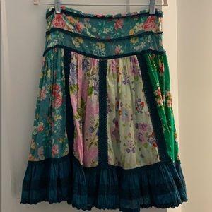 Matilda Jane Floral Skirt Size Small
